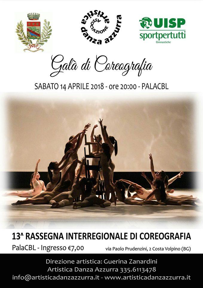 Sabato 14 aprile 2018 - Galà di coreografia